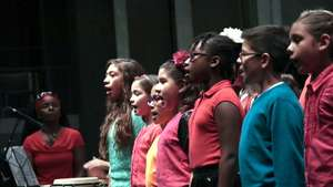 ETM-LA students sing Williams' music from Amistad