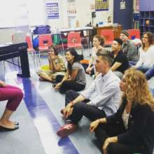 Music Teachers Participate in Training