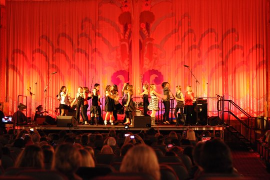 ETM-LA Students from West Hollywood Perform