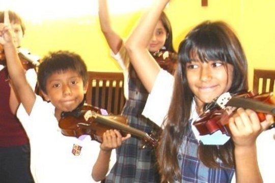 Violin Students