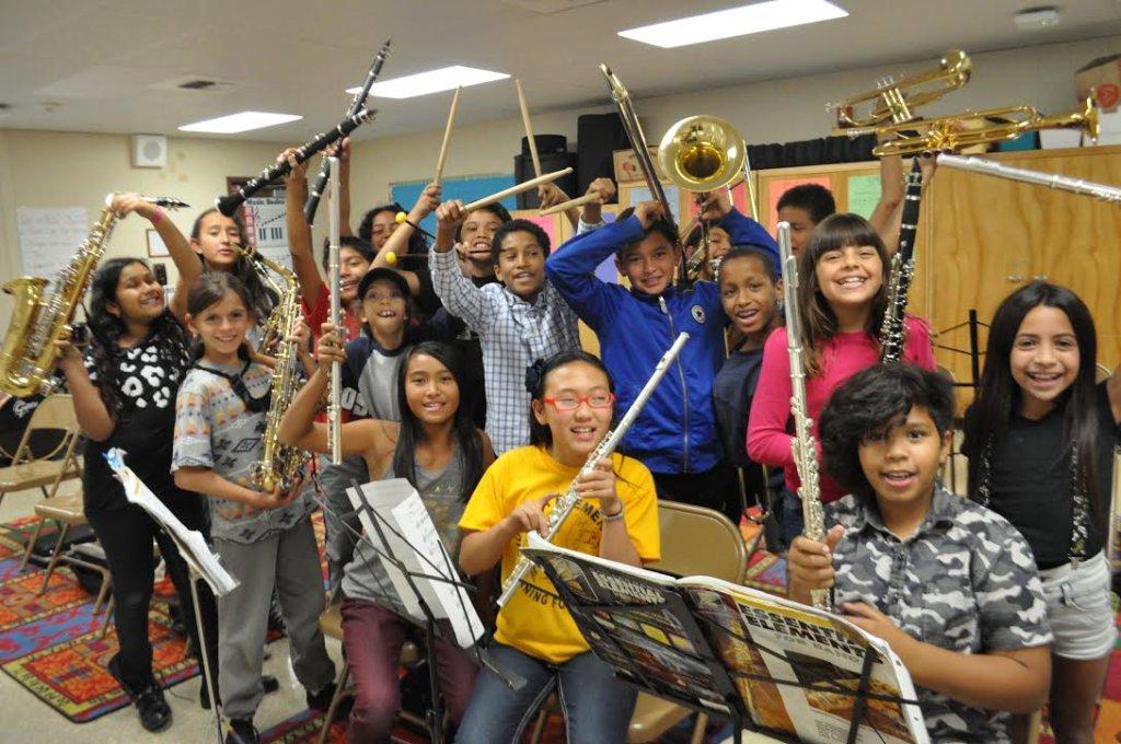 ETM-LA Music Students