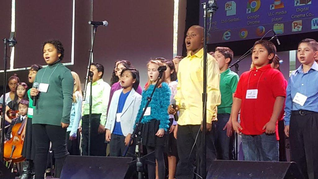 "ETM-LA Music Students Perform ""Glory"""