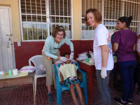 Jan Tepe, DDS, in Delicias, Intibuca, Honduras