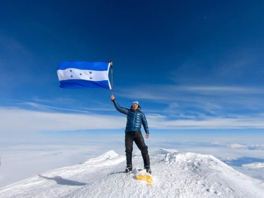 Ronald Quintero first Honduran to summit Mt Denali