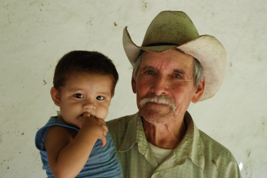 Older Man with Baby