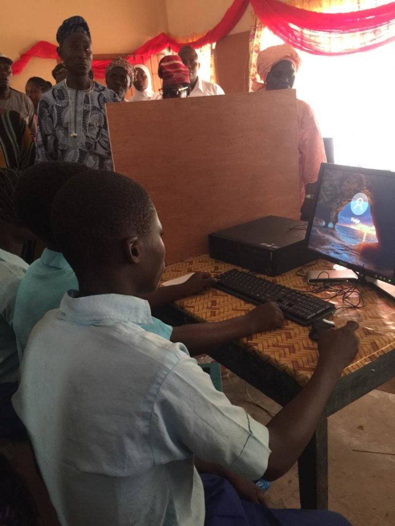 Technology for 100 Public Schools in Nigeria