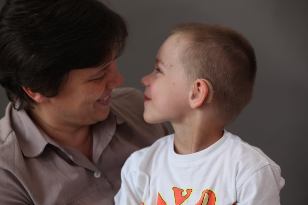 Rehabilitation for 35 Deaf Children from Ukraine