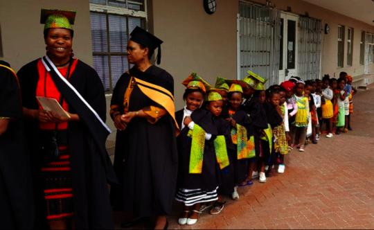 Molo Mhlaba's inaugural graduation