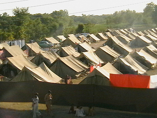 Camp for Swat IDPs