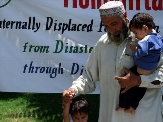 Help Displaced Families From Swat and Buner