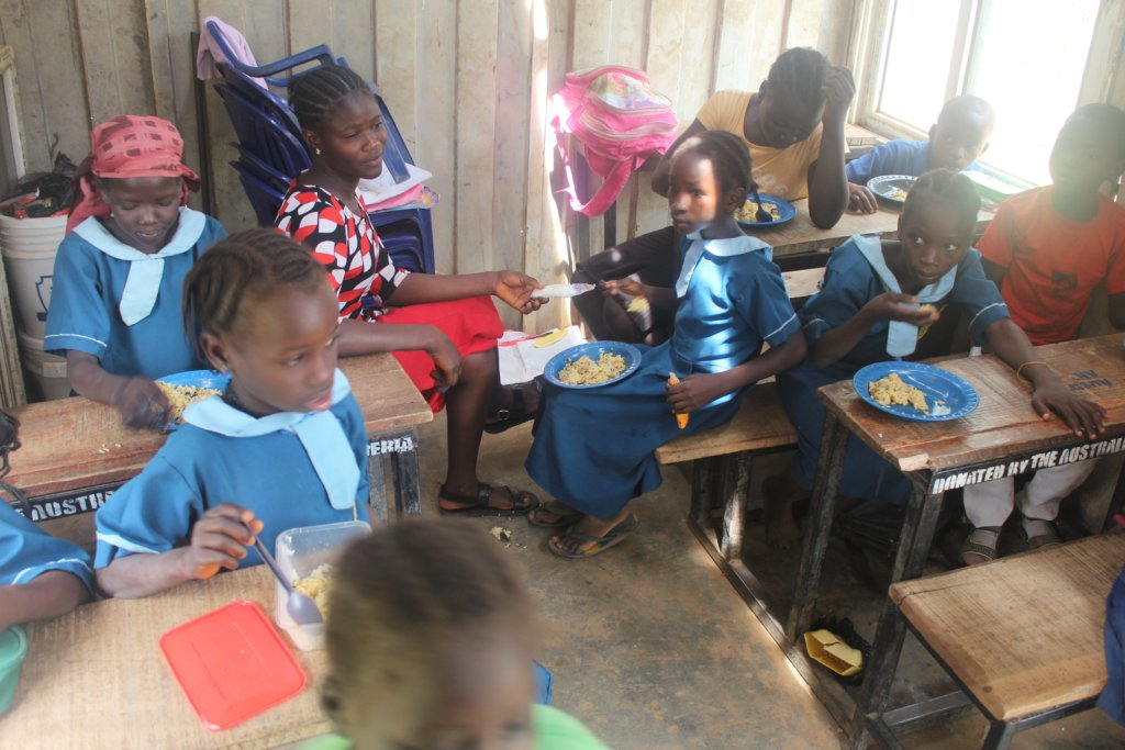 Provide a Healthy Meal for over 700 Children Daily