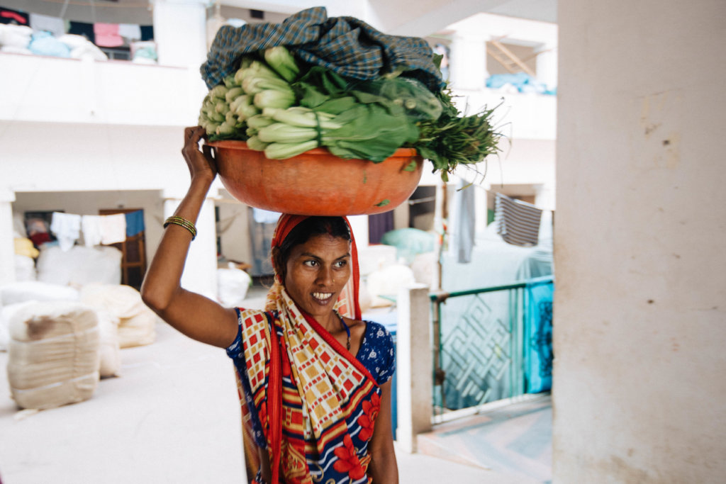 Reports on Plant Kitchen Gardens for Families in Need, India