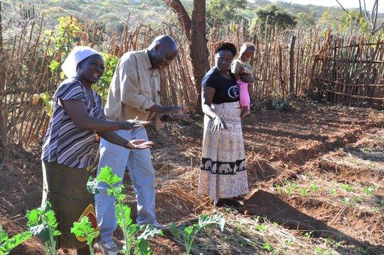 Conservation Farming training