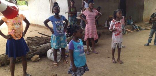 Marc Bolan School Students Visiting Villages