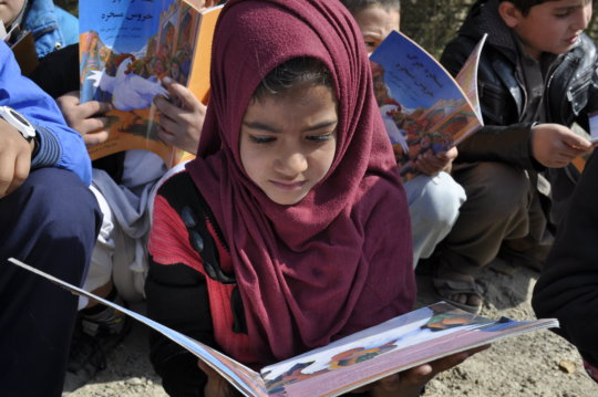 Keep Afghan Children Off the Streets and In School