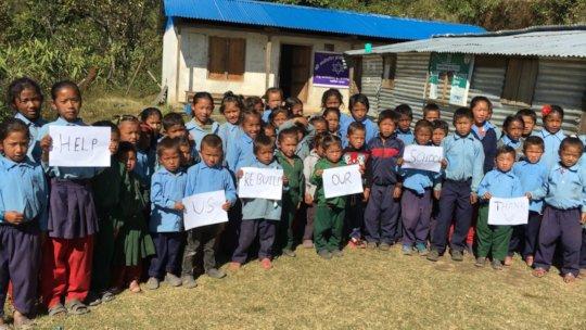 School Children of Mandedanda Primary School
