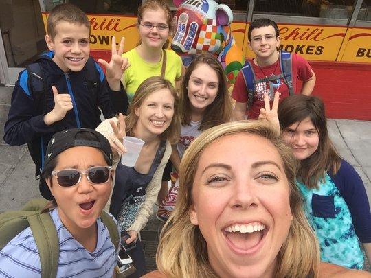 Selfie at Ben's Chili Bowl!