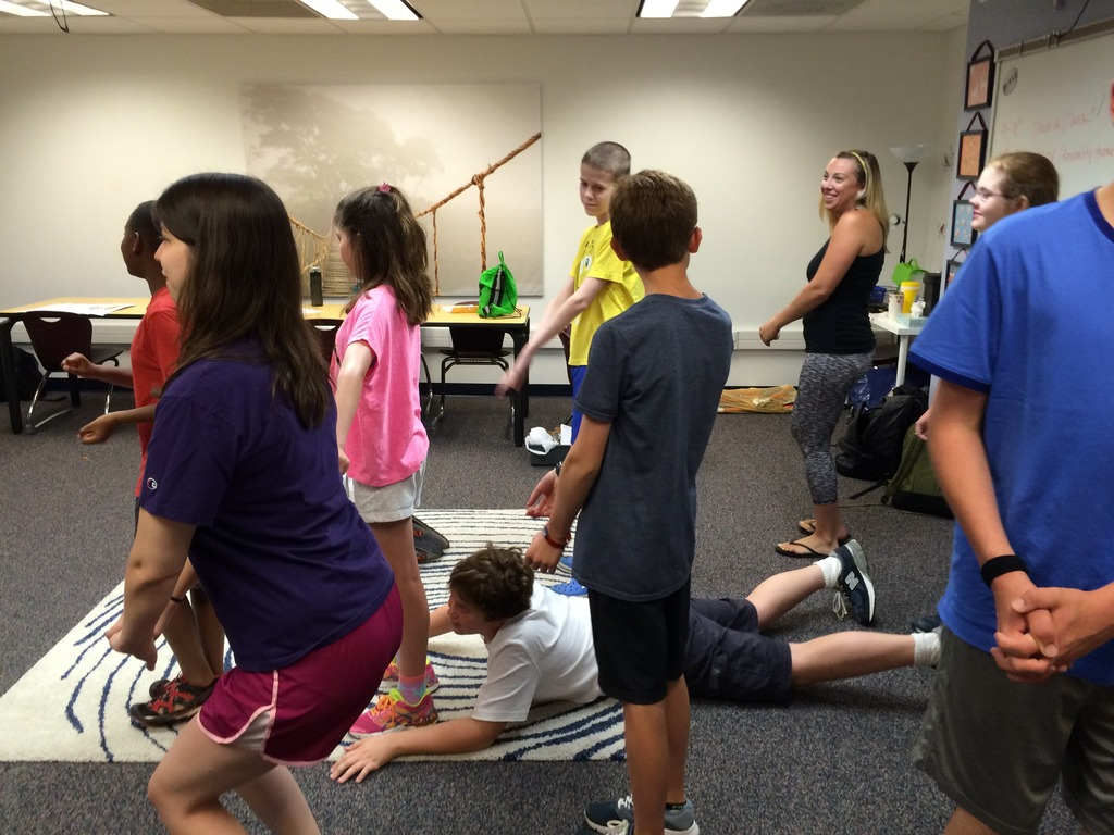 Improv with the Middle School Camp