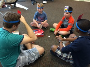 Hedbanz with Counselors
