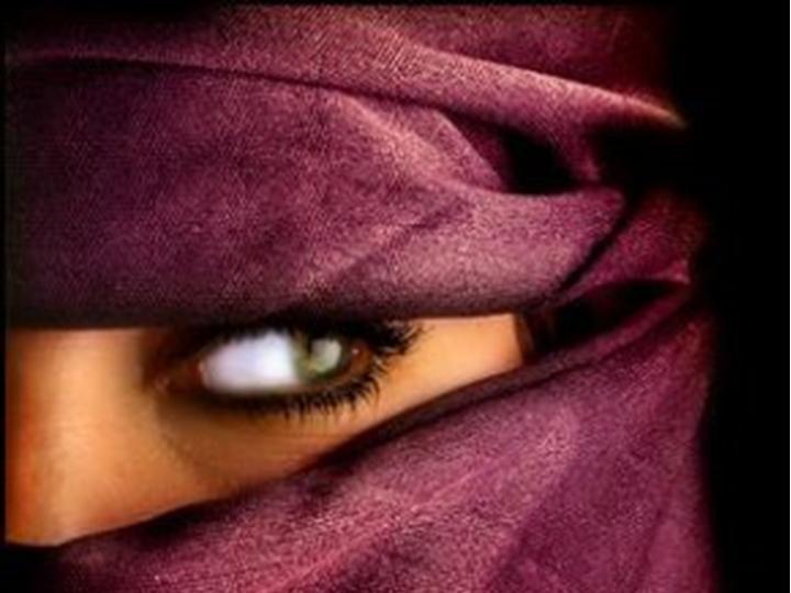 American woman in Morocco