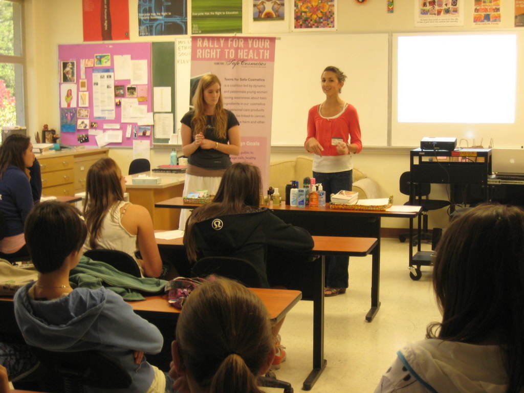 Environmental and advocacy education for teens