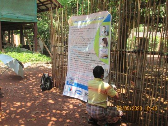 MedAcross covid-19 awareness activity