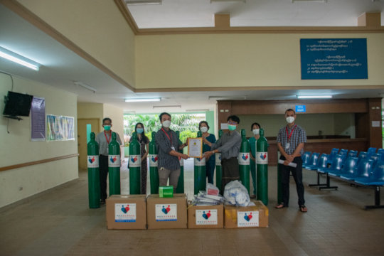 MedAcross staff for the Kawthaung hospital