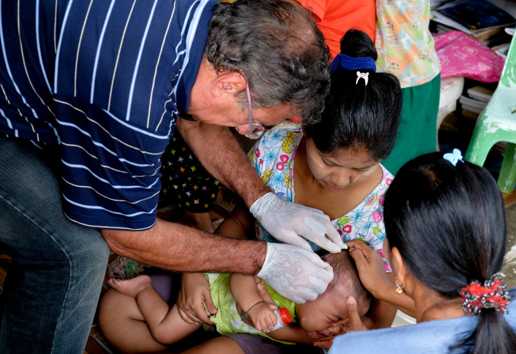 Healthcare for 2000 Rural Villagers in Myanmar