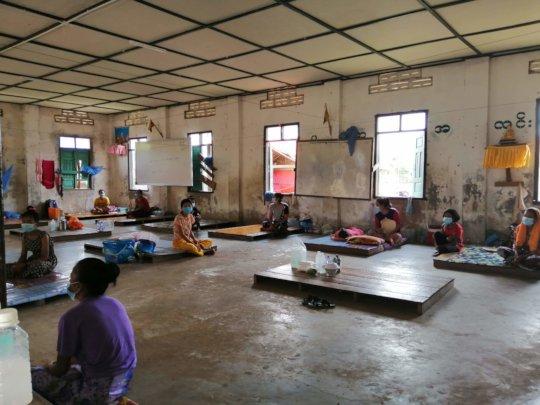 Quarantine centers in rural villages