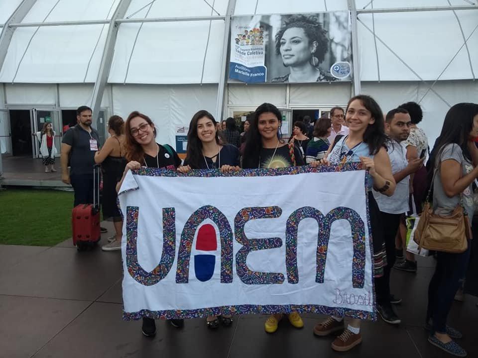 At the 12th Congress for Public Health in Rio