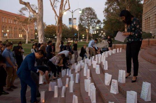 Student-led Xtandi vigil