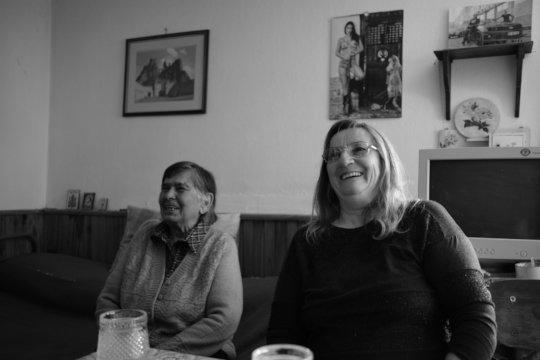 Granny Boyka and Dani / Salash chitalishte