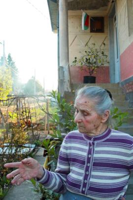 Baba Vasilka from Sinagovitsi village
