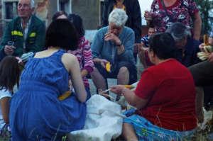 Sedyanka (a community gathering for work and fun)