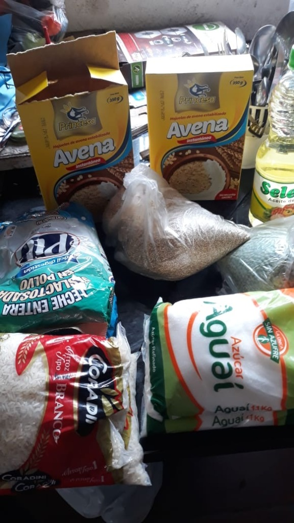 Basic Food Items We Are Delivering To Families