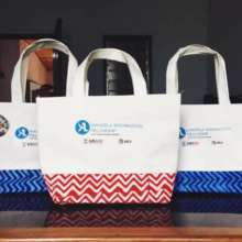 2ND CONFERENCE BAGS MADE FROM RECYCLED PLASTIC