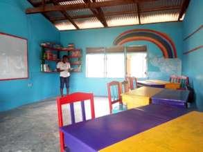 Library for the Dumpong Basic School in progress