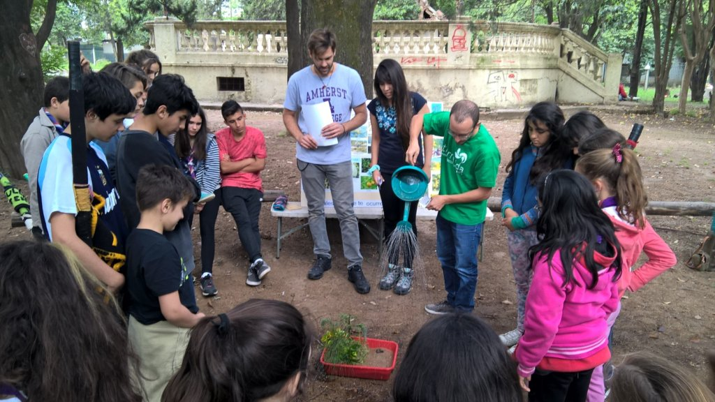 Help 120 Students Take Environmental Action