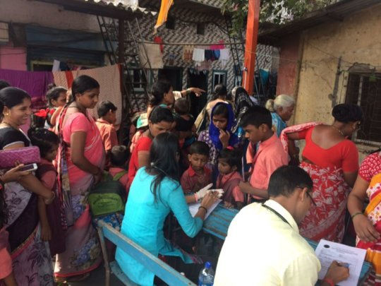 Health Check up Camp - Parents and Children