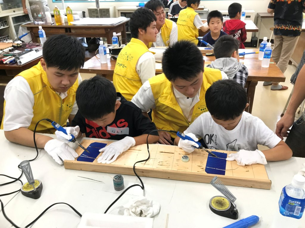 Summer School with Odaka High School Students