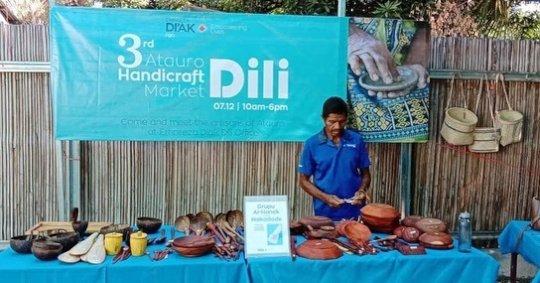 3rd Atauro Handicraft Market in Dili