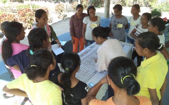 Training female artisans on business skills