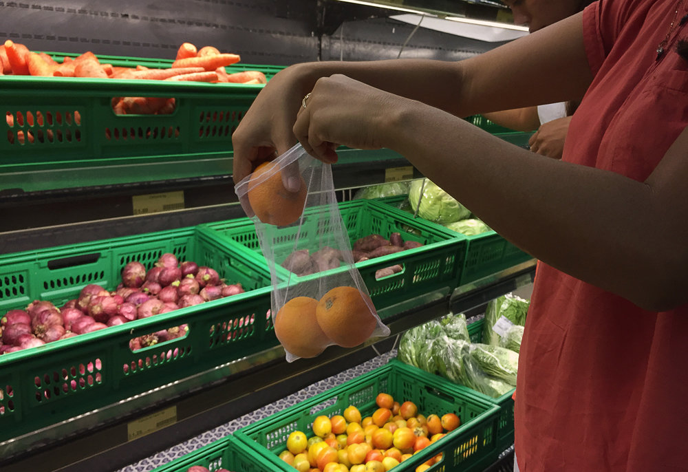 New products - reusable produce bags