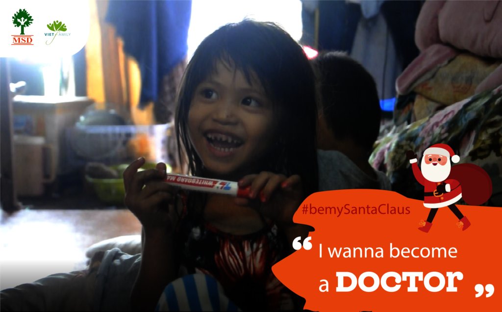 My dream is to become a Doctor