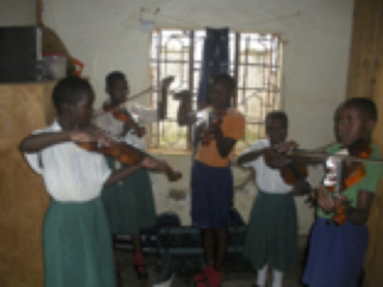 A group session at St Mary Kevin School
