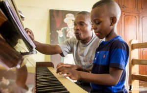 Teaching piano