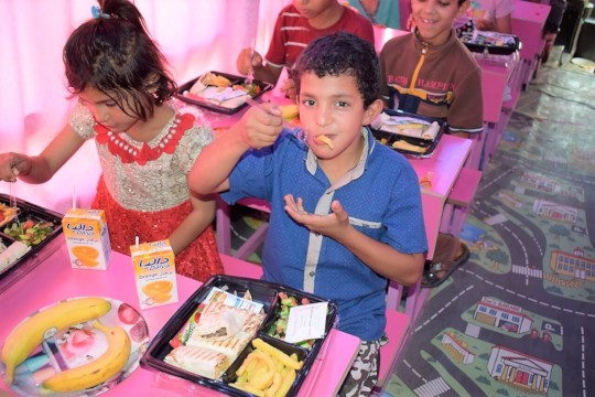Hope Bus provides 1,000+ yummy meals monthly
