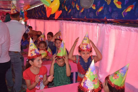 Give them the childhood joy of a party