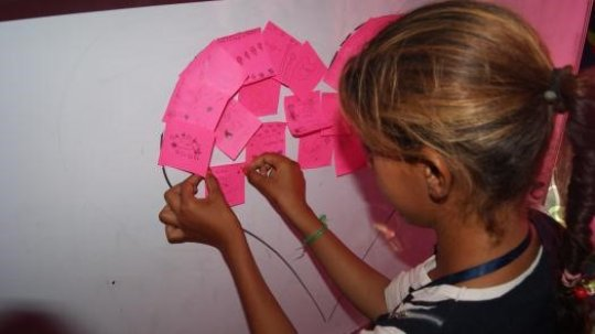 A little girl shares her dreams for the future