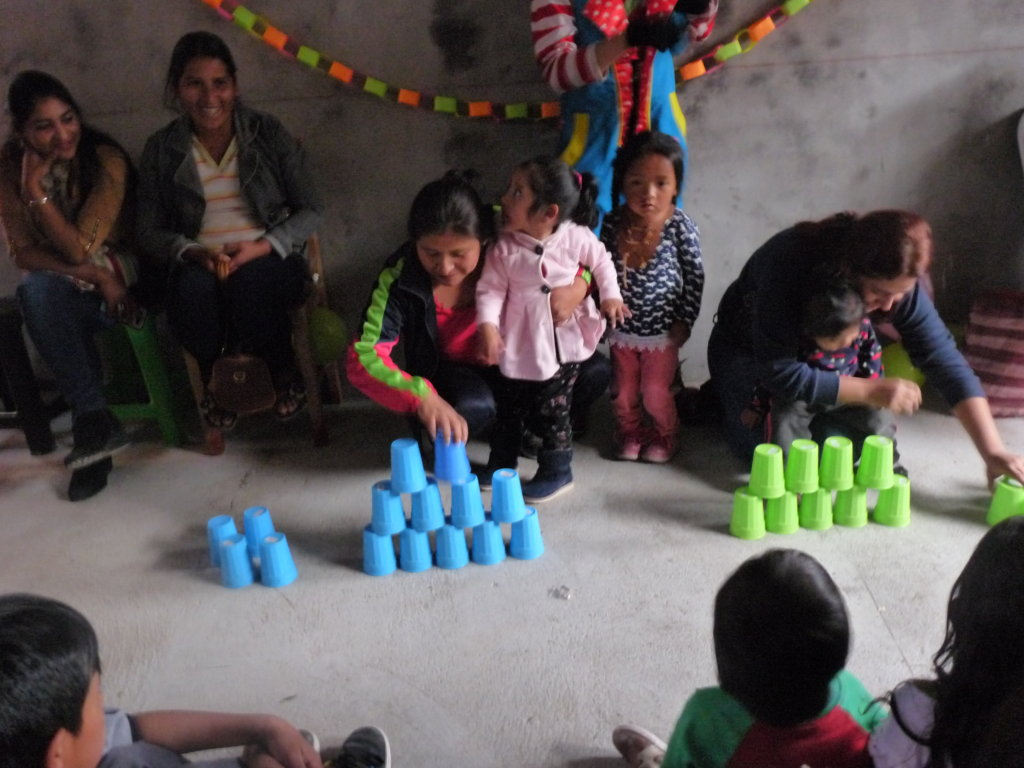 Change mindset of a physically disabled child Peru